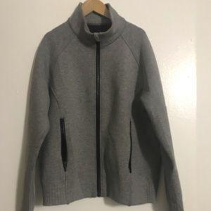 Lululemon NTS Jacket Heather Grey / size 8